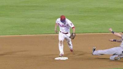 Frandsen at second base, Galvis at shortstop
