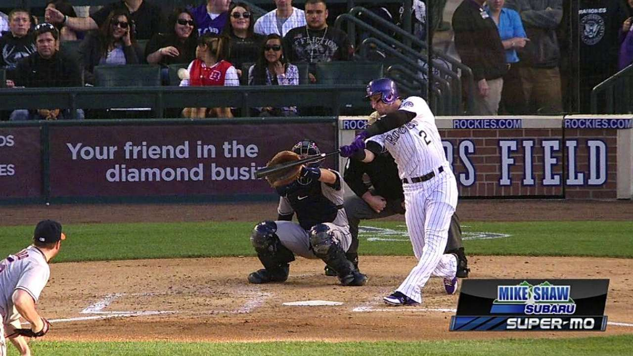 Despite struggles vs. southpaws, Tulo raking