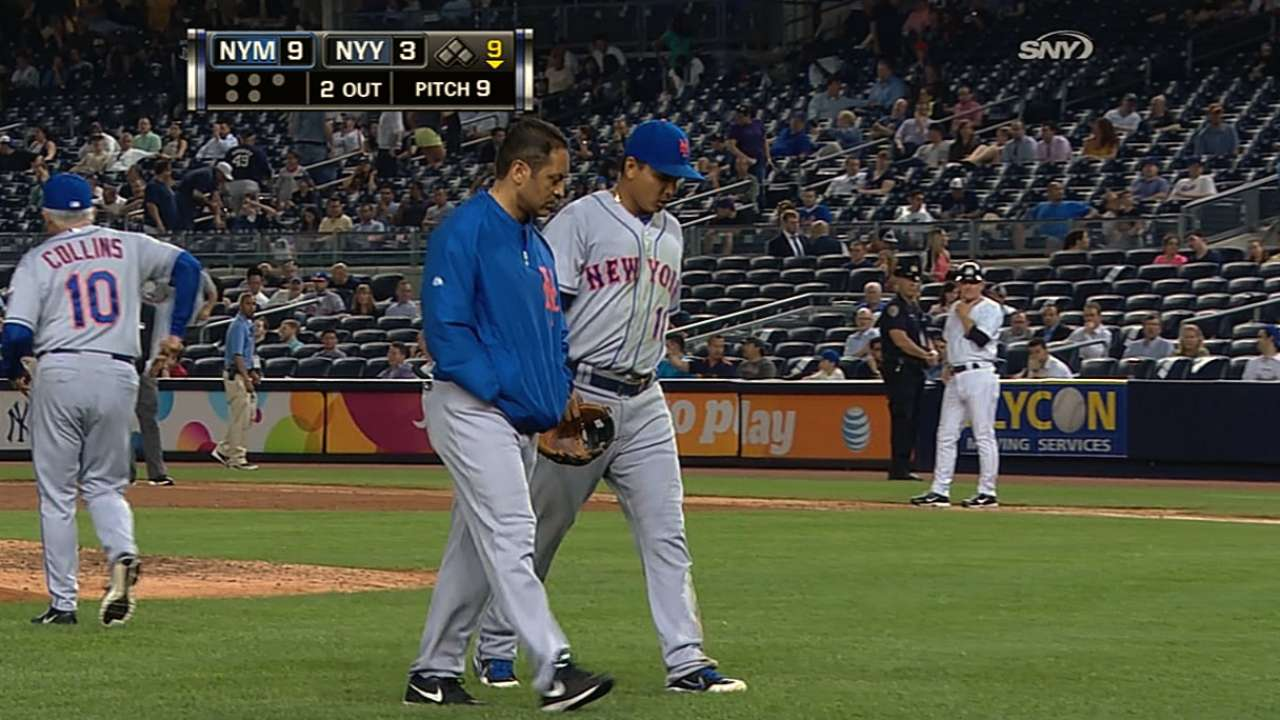 Quad injury puts Tejada on disabled list