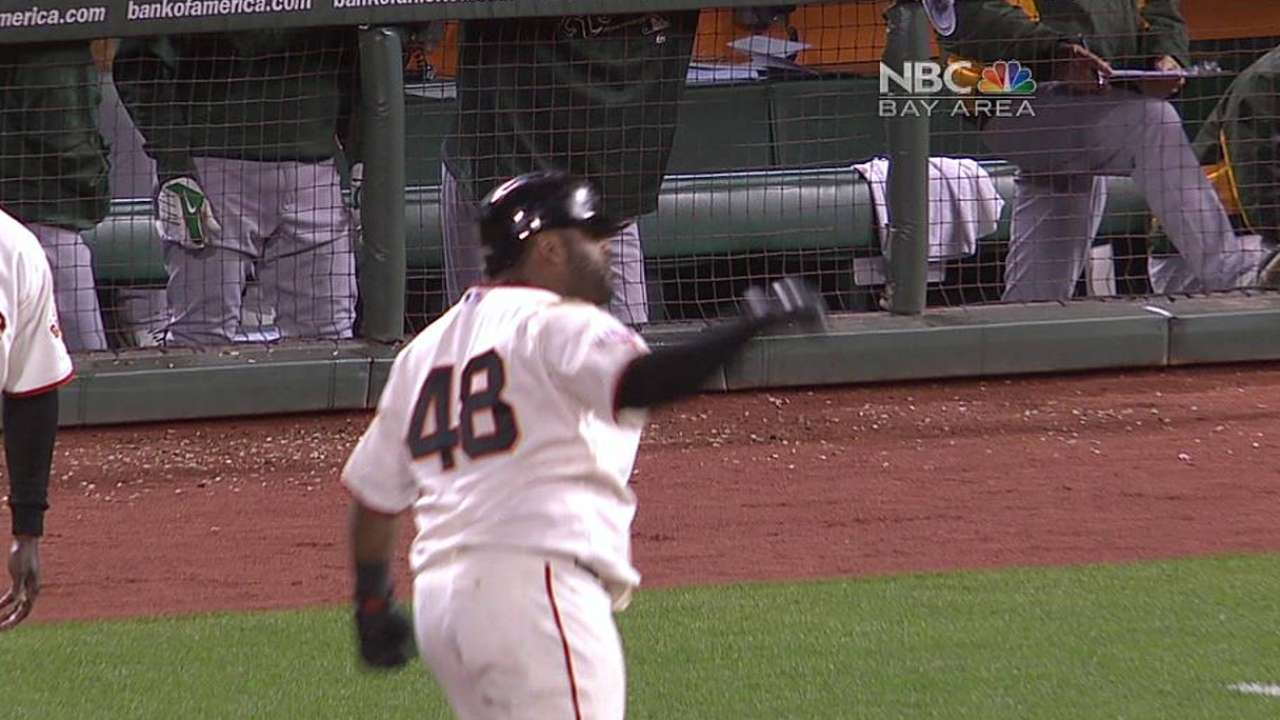 Sandoval sticking with free-swinging ways