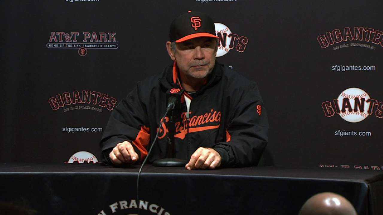 Lincecum 'little bit of an enigma' to Bochy