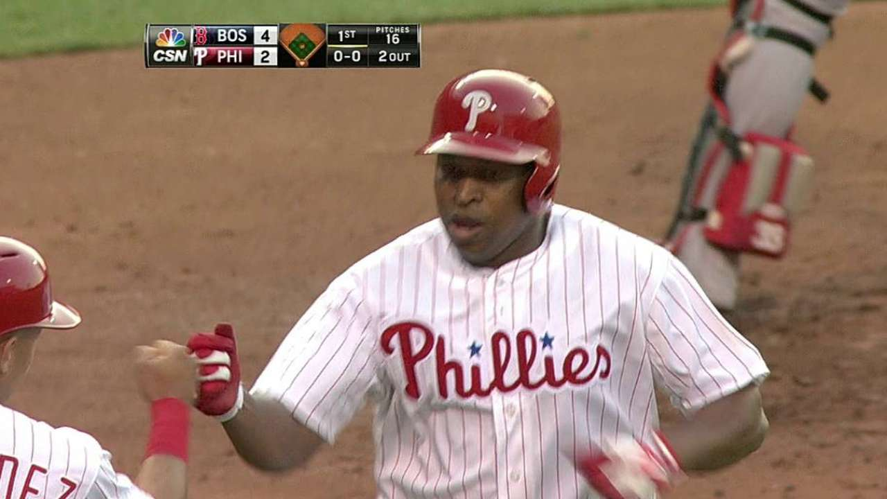 Early deficit too much for Phillies to overcome