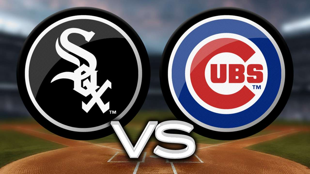 Cubs to make up rainout vs. White Sox on July 8