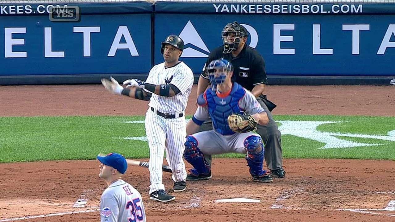 Yankees cayeron ante Dillon Gee y los Mets