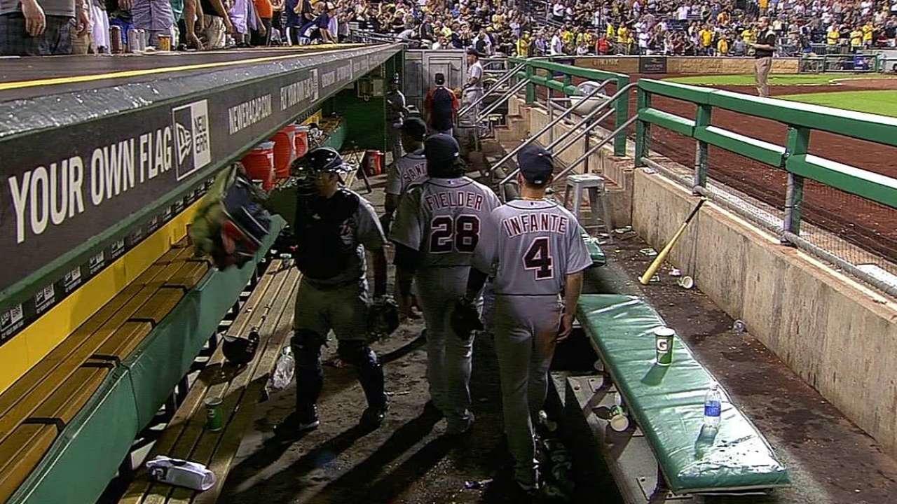 Tigers dodge the heat, skip BP in Baltimore