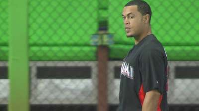 Stanton pleased with progress of strained hamstring