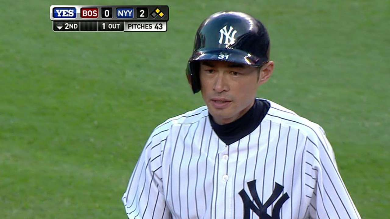 After snapping 0-for-22 skid, Ichiro heating up