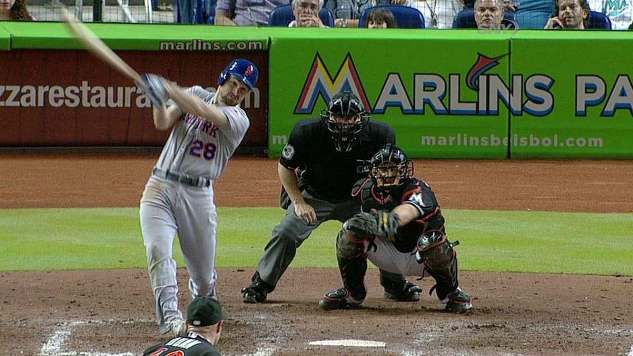 Mets caen con Marlins y ponen fin a racha ganadora