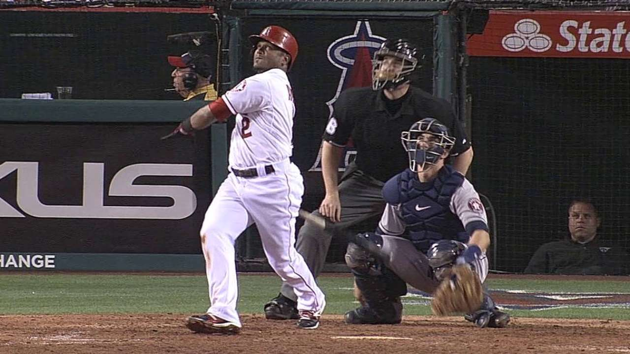 Angels fall to Astros in Hanson's return to hill