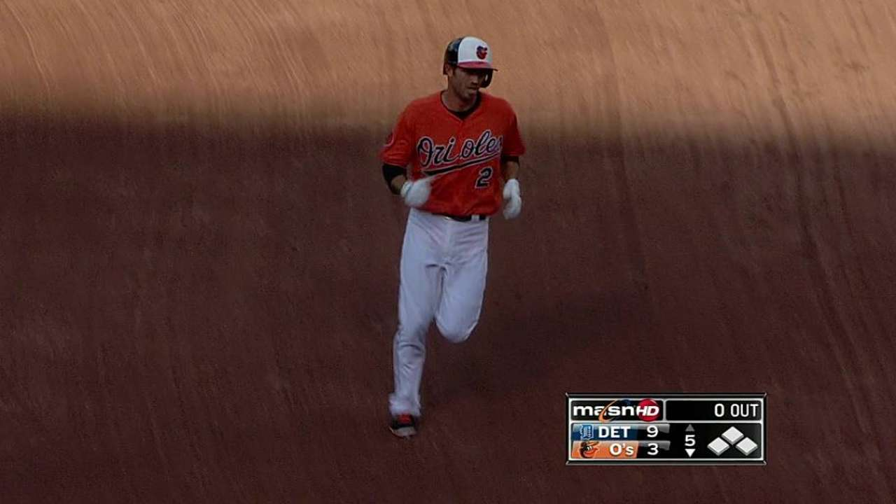 Hardy's two homers not enough to counter Tigers