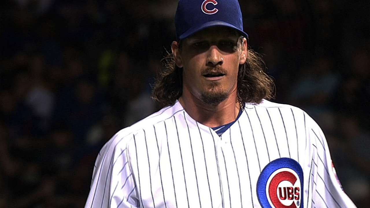 Gibson on Samardzija: Pitch more, talk less