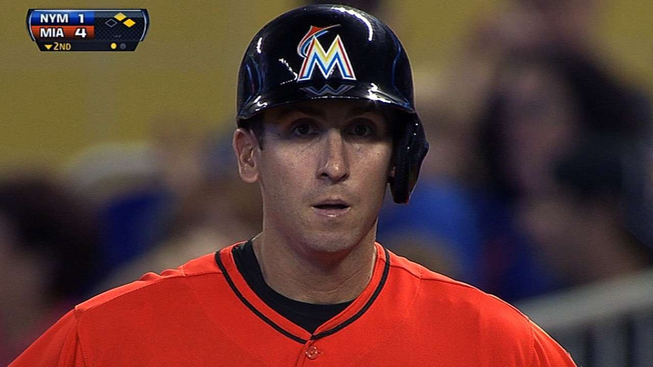 Marlins bust out vs. Harvey, rally for first sweep