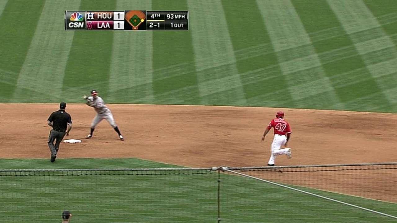 Astros ganaron su quinto al hilo con pitcheo y poder