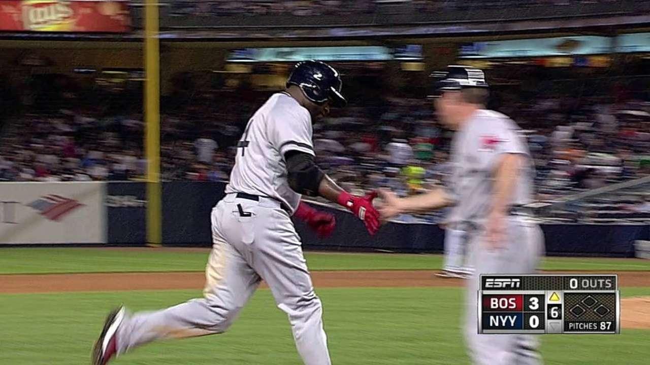 Jonrones de Iglesias, Papi hundieron a Yankees