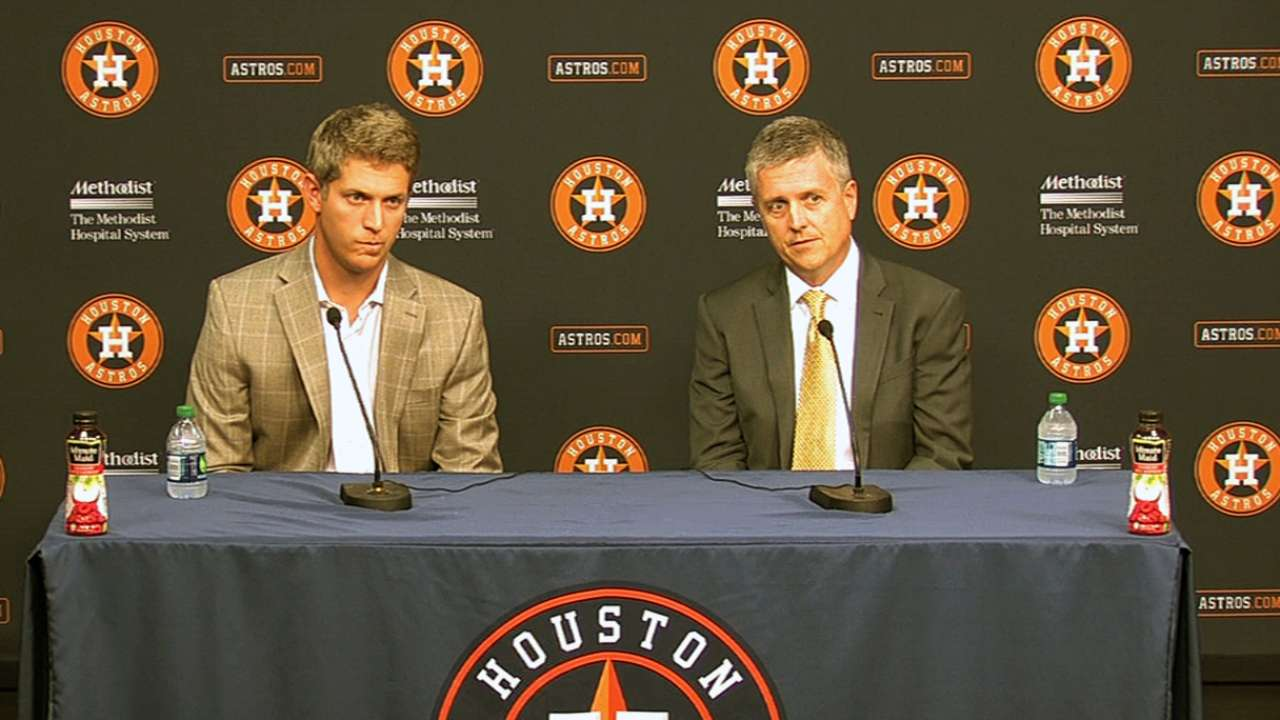For Draft, Astros will be diligent with first pick