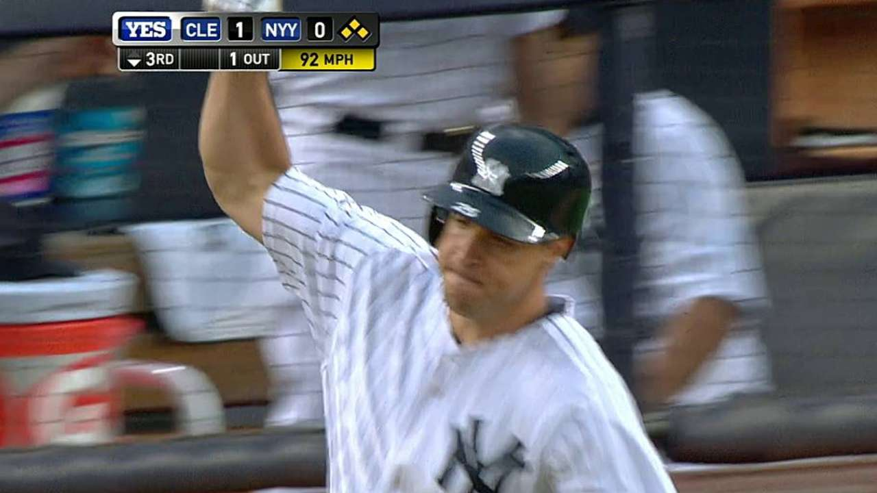 Teixeira, Gardner pace Yanks in win over Tribe
