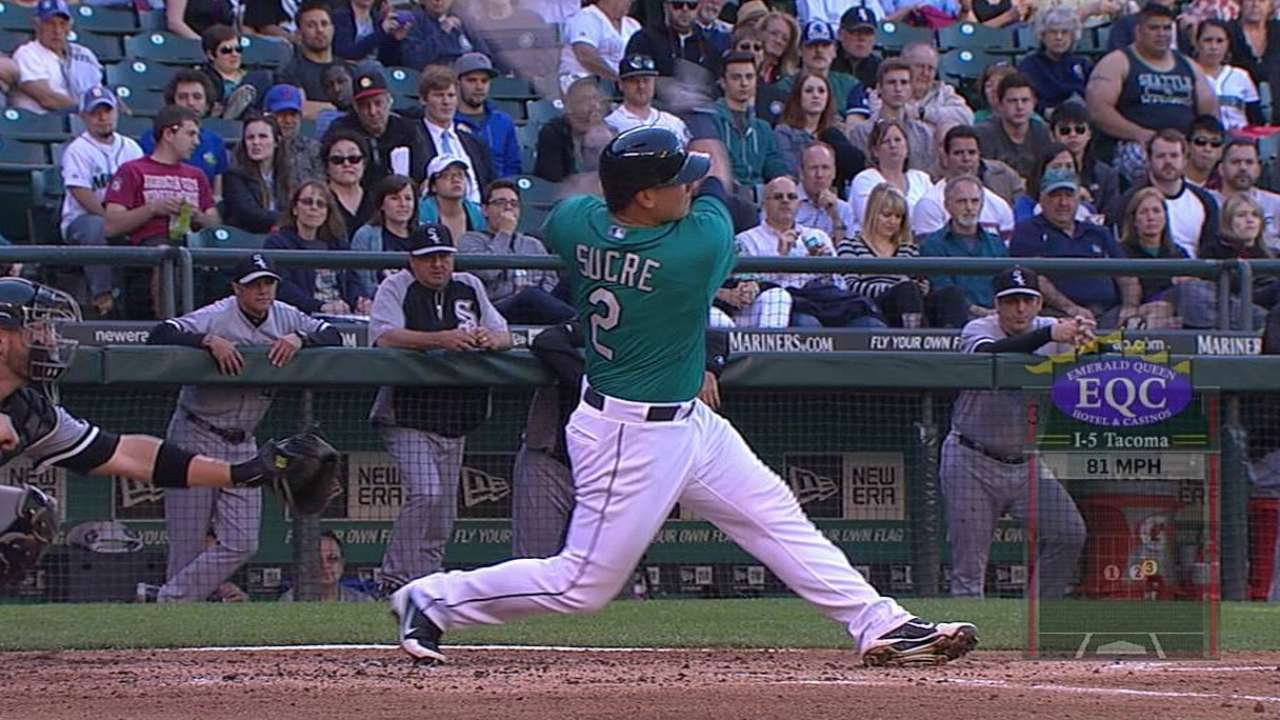 Sucre called up from Triple-A to replace Buck