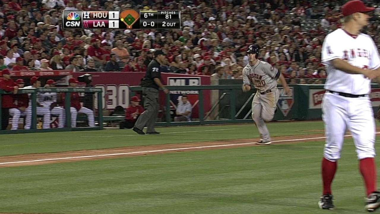 Astros sweep Halos, stretch winning streak to six