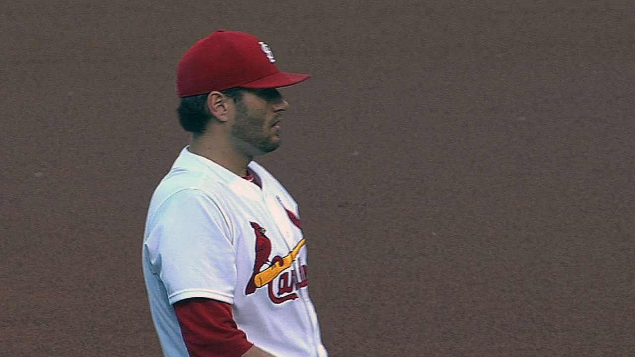 Battery energizes Cardinals to rout over D-backs