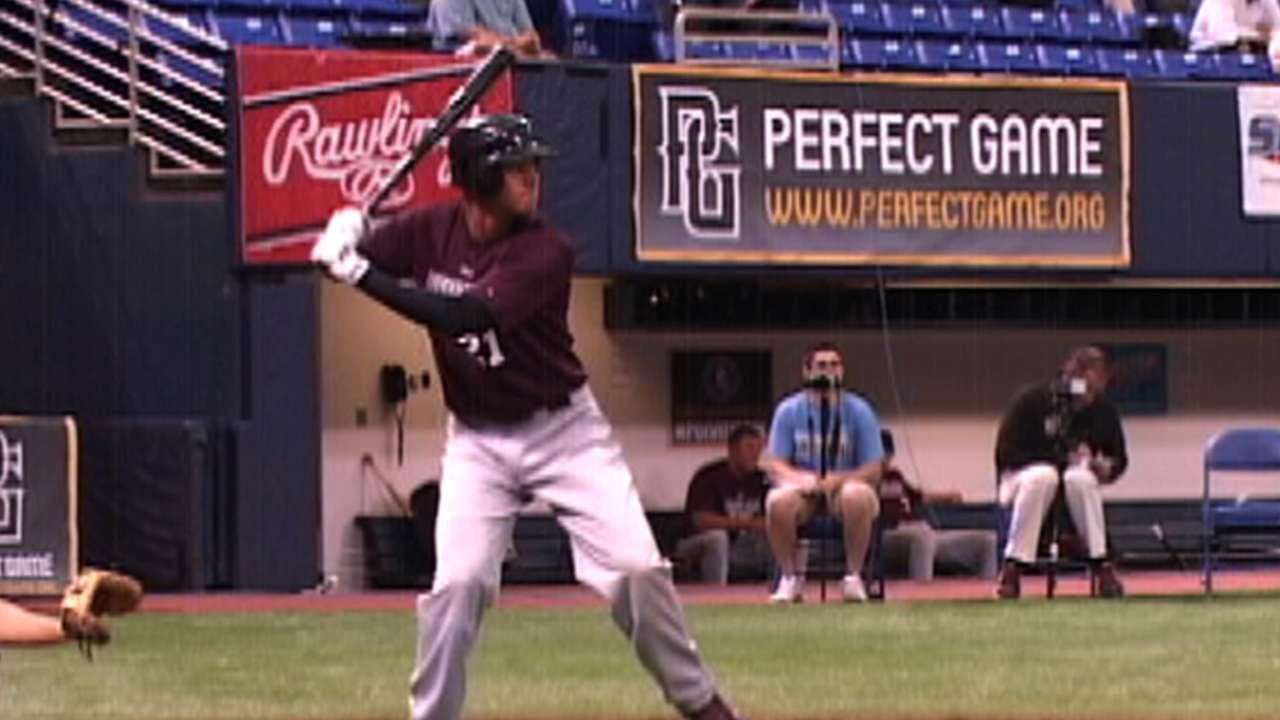 Draft prospect Manny Jr. being ... Manny Jr.