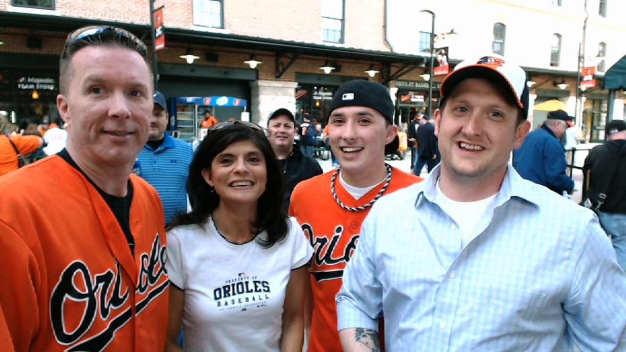 O's fans test knowledge as 'Bucks' returns to roots