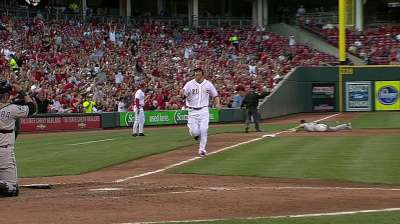 Hanigan returns to Reds as Miller hits disabled list
