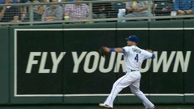Gordon's cannon racking up assists for Royals