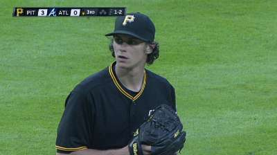 Pirates' Opening Day rotation down to Locke