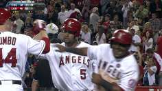 Pujols' clutch homer snaps Halos' four-game skid