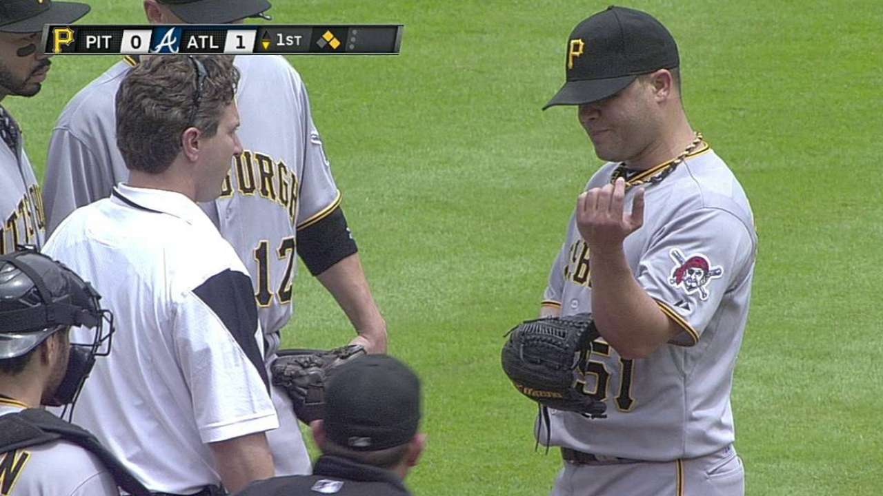 Wandy in good shape after return to mound