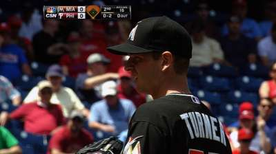After early duel, five-run seventh sinks Marlins