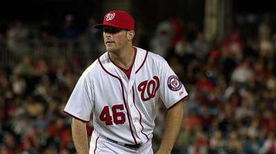 Lefty Krol finds his place in Nationals bullpen