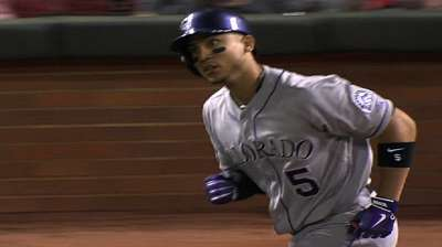 Tulo in first, CarGo makes move in All-Star voting