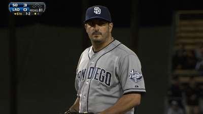 Padres stop Dodgers behind Marquis' gem