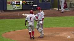 Cloyd pushes Phillies above .500 for first time
