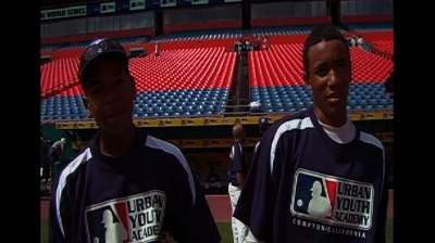 Smith, Crawford products of MLB's youth initiatives