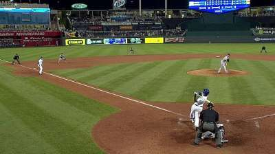 Royals rally with four-run eighth to claim series