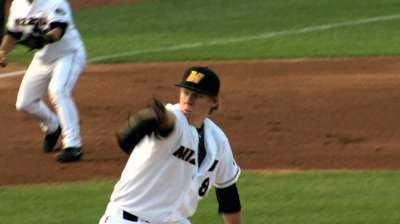 Cubs draft Mizzou lefty Zastryzny in second round