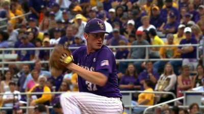 Twins add LSU righty Eades in second round