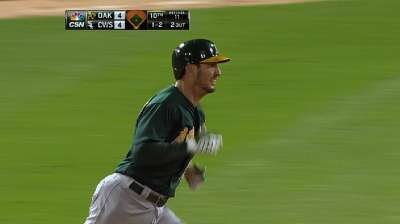 A's hit four home runs to rally past White Sox in 10