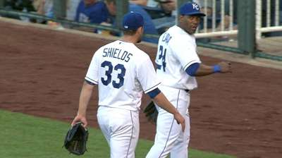 Shields won't face former team when Royals visit