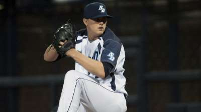 Lefty Stalcup has strikeout potential