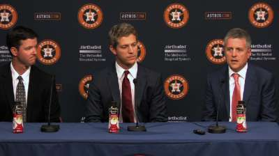 Astros' Draft plan nets college talent, arms