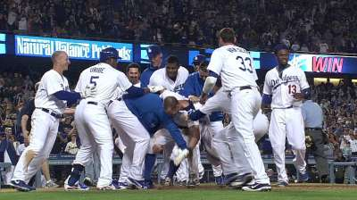 Puig's homer sets stage for wild walk-off in LA