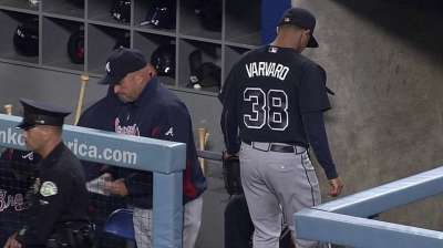 Varvaro gets a taste of one-out relief work