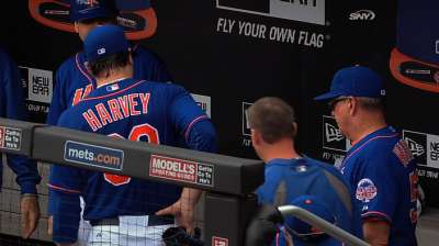 Harvey exits early with lower back tightness