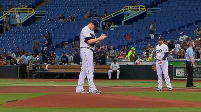 Rays leapfrog O's in standings with shutout