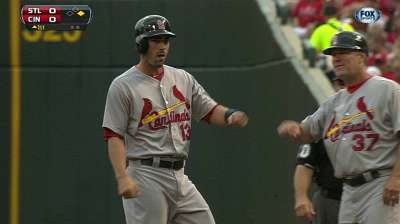 M. Carpenter explains rise in hit by pitches