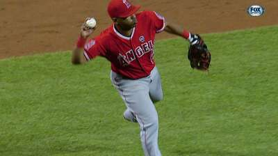 Angels settle for split after dropping nightcap