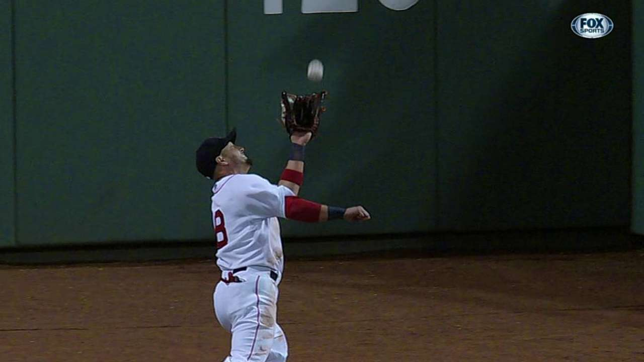 Victorino's great catch